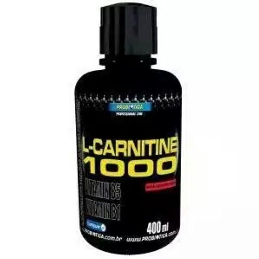 L-CARNITINE 1000® é um produto que fornece em cada porção (2 colheres de sopa) 1g de L-carnitina. A L-Carnitina é um nutriente que exerce papel essencial no metabolismo energético. Otimizar o uso de gordura como fonte de energia, poupando glicogênio muscular, adiando o início da fadiga.  http://www.umavidasaudavel.com.br/store/l-carnitina-1000-400ml-probiotica.html