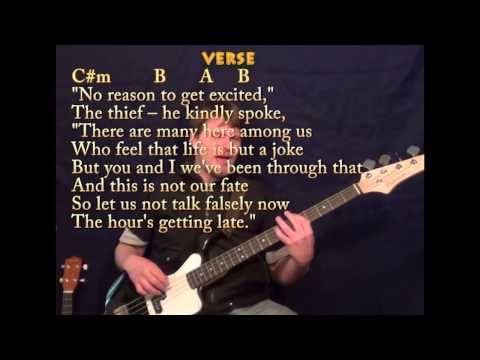 All Along The Watchtower Bass Guitar Banjo Lessons Mandolin
