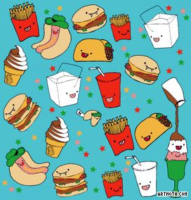 Cute animated tacos cute cartoon tacos cute taco 39 s - Kawaii food wallpaper ...