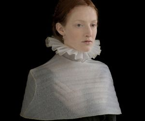 Foam Fashions Emulate Dutch Masters' paintings