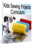 Kids projects and patterns to learn to sew.