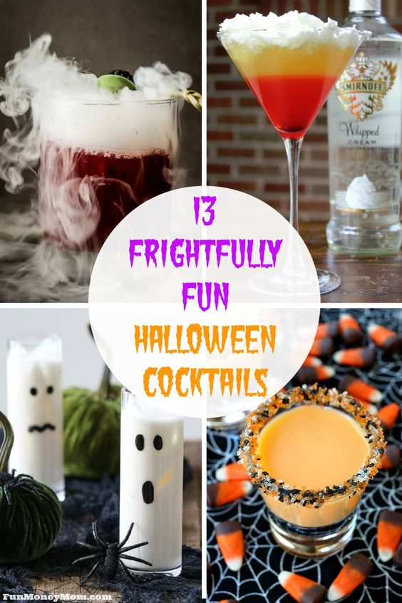Do you live it up for Halloween every year? If so, why not make one (or two) of these frightfully fun Halloween cocktails to make your night even more spooktacular...