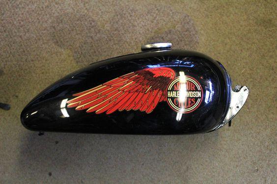 Harley Davidson Fuel Tank