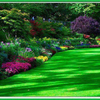 Resultado de imagem para jardim florido imagens