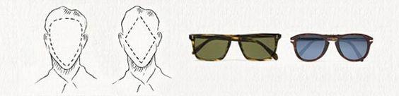 Escolha o óculos certo para o seu tipo de rosto :)