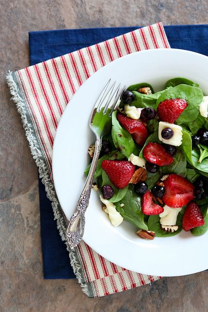 roasted berry and brie salad by annieseats, via Flickr