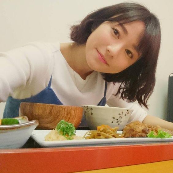 お食事風景の木村文乃