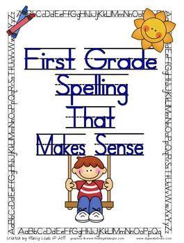 Spelling Lists That Make Sense-First Grade $9.99