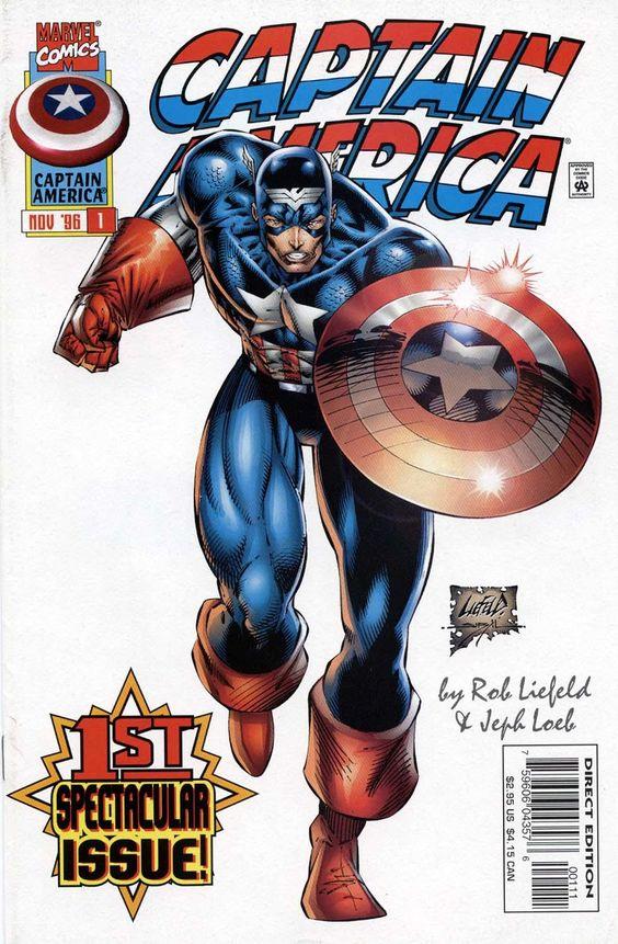 Heróis Renascem: Capitão América