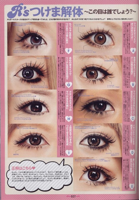 pretty makeup styles for round and almond shaped eyes ...