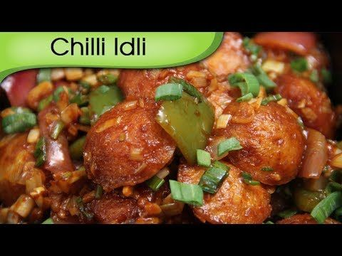 Baiga'99 Chilli Idli - How to Make Simple Homemade Indo Chinese Food - Recipe By Ruchi Bharani