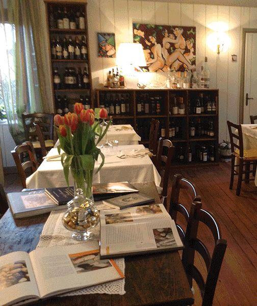 The restaurant Tre Colli