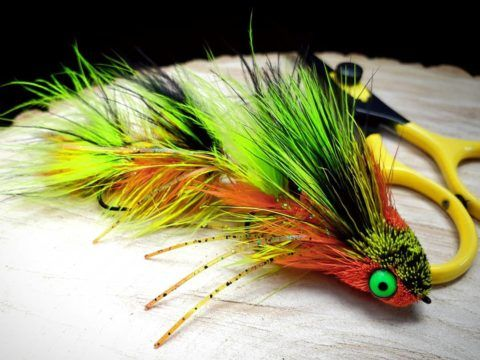 Flies Around The Net January 2019 Frankenfly Flying Fly Tying Pike Flies