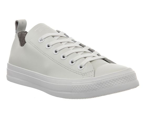 Buy White White Exclusive Converse Ctas Unlined Loop Ox from OFFICE.co.uk.