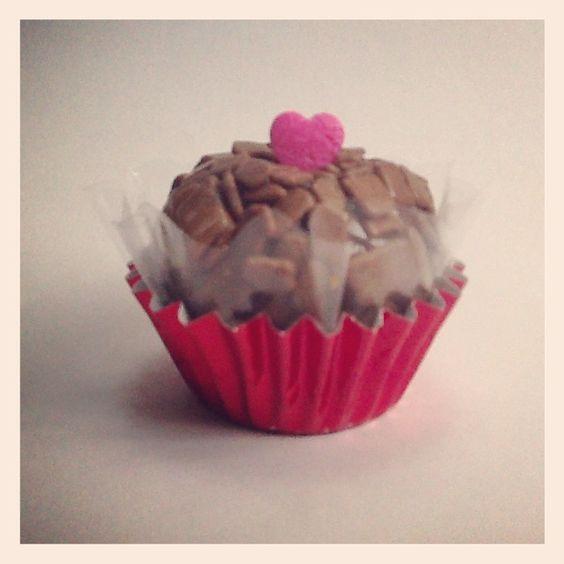 Brigadeiro + Valentine's Day + LUX Brownies