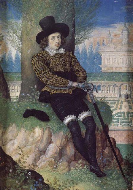 Unknown Gentleman,1605: