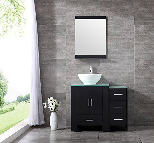 Sliverylake 36 Bathroom Vanity And Sink Combo Mdf Wood C Https Www Amazon Com Dp B0756tqzm Modern Bathroom Vanity Bathroom Vanity 24 Inch Bathroom Vanity