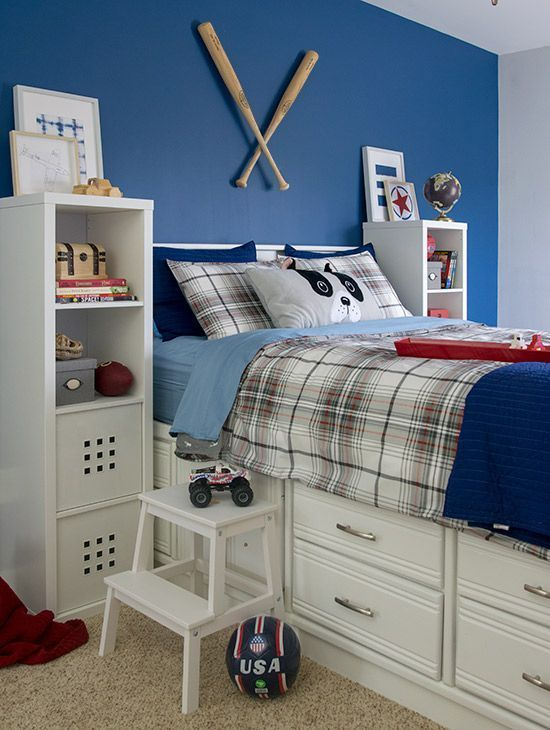 Boy's Bedroom Ideas - Themes, Colors, Functionality | Decorated
