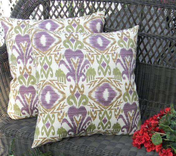 Set Of 2 Indoor Outdoor Decorative 17 Quot Pillows