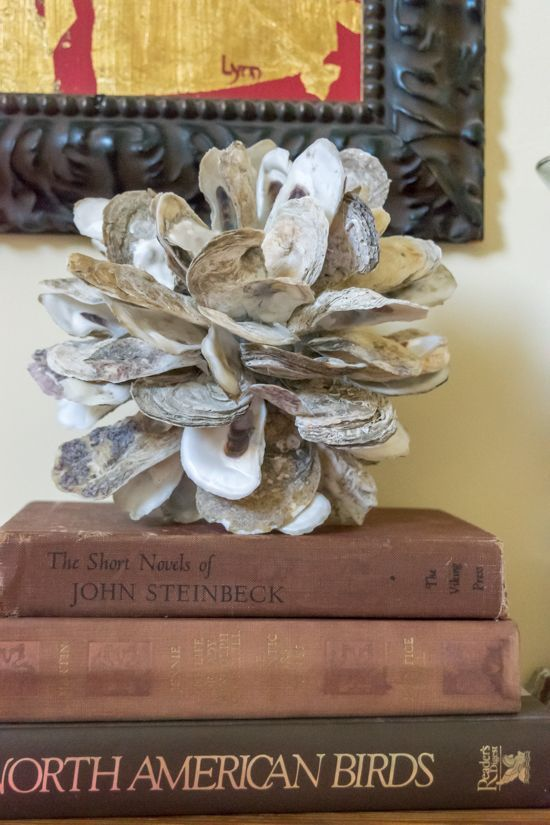 Diy Oyster Shell Clusters Crafts Seashell Crafts Shell Crafts