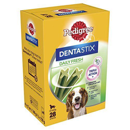 From 10 92 Pedigree Dentastix Fresh Medium Dog Dental Chews 28