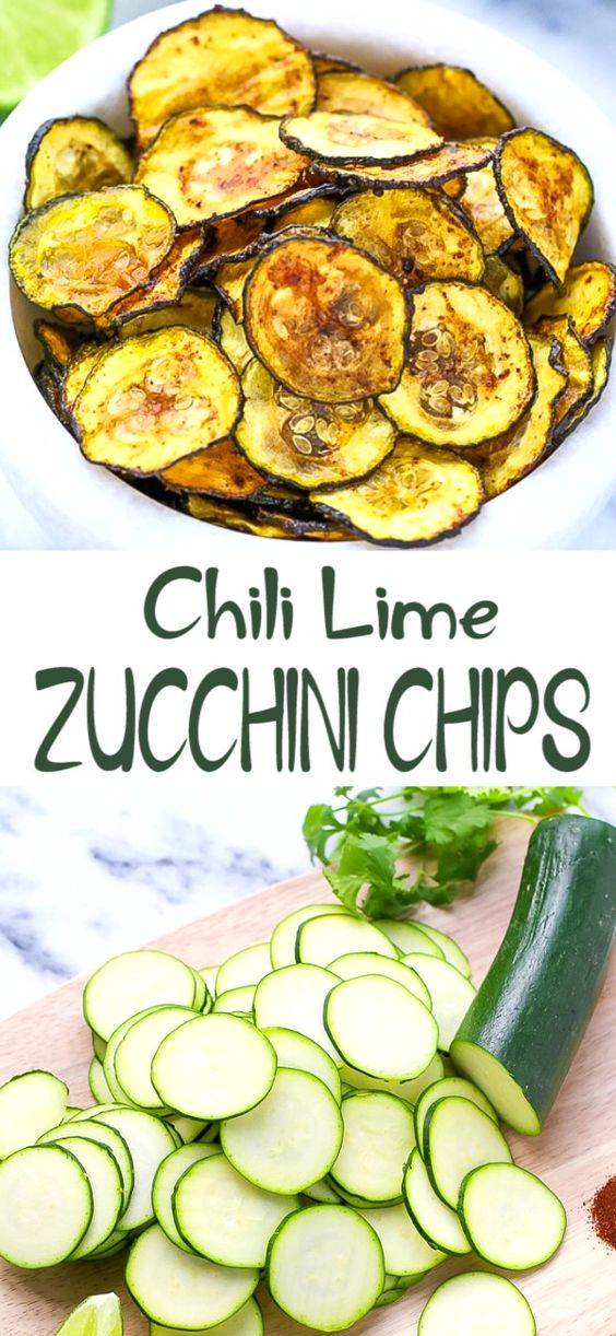 CHILI LIME ZUCCHINI CHIPS
