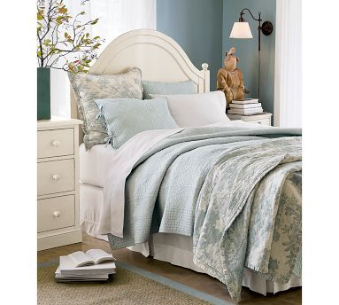 Blue Bedroom From Pottery Barn Master Bedroom Pinterest Furniture Pottery And Wall Colors