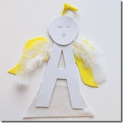 angel preschool crafts | angel craft (2) - Red Ted Art's Blog