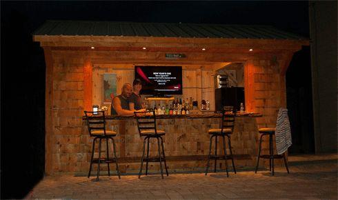 Clic Bar Shed Tiki Bars And Sheds Pinterest Yahoo Search Backyard