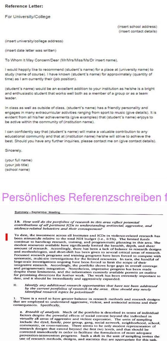 Personliches Referenzschreiben Fur Studenten 30 Nih Empfehlungsschreiben Probe In 2020 Empfehlungsschreiben Referenzschreiben Studenten