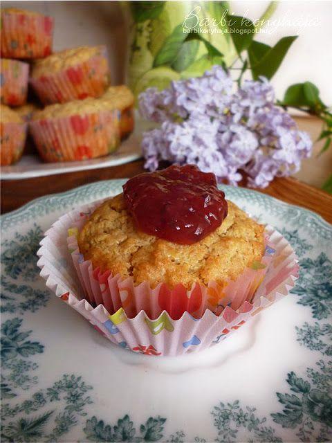 Barbi konyhája: Almás muffin zablisztből és egy finom laktató Pale...