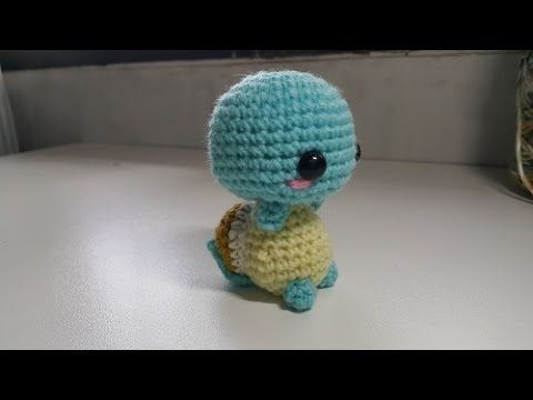 Amigurumi Charmander Tutorial : Amigurumi Crochet Squirtle Tutorial Video by ...