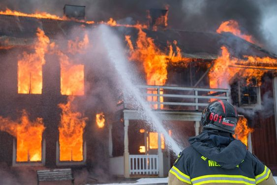 Process for Fire Insurance Claim