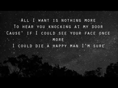 Kodaline All I Want Lyrics