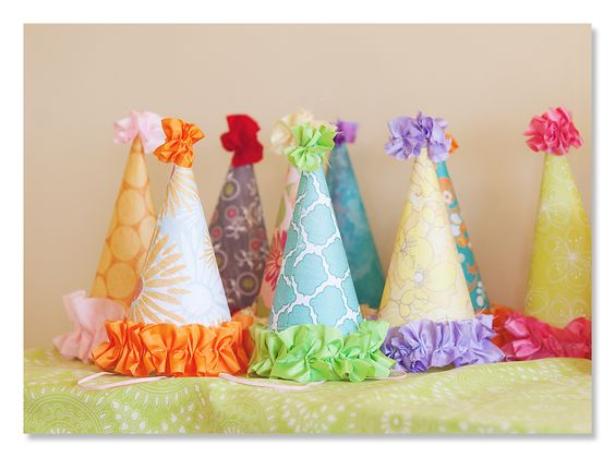 Handmade Birthday hats