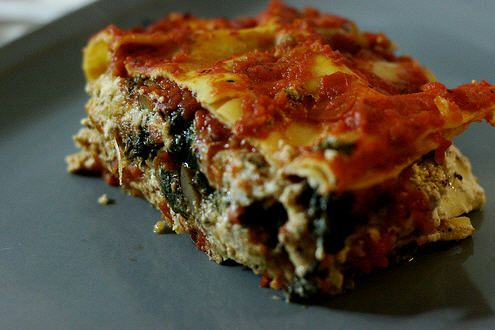 From the Engine 2 diet, Sweet Potato Lasagna. I will be making this very soon!