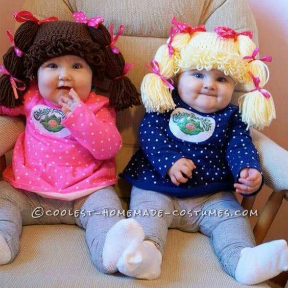 Really great idea for Halloween costume for baby girls, really adorable: