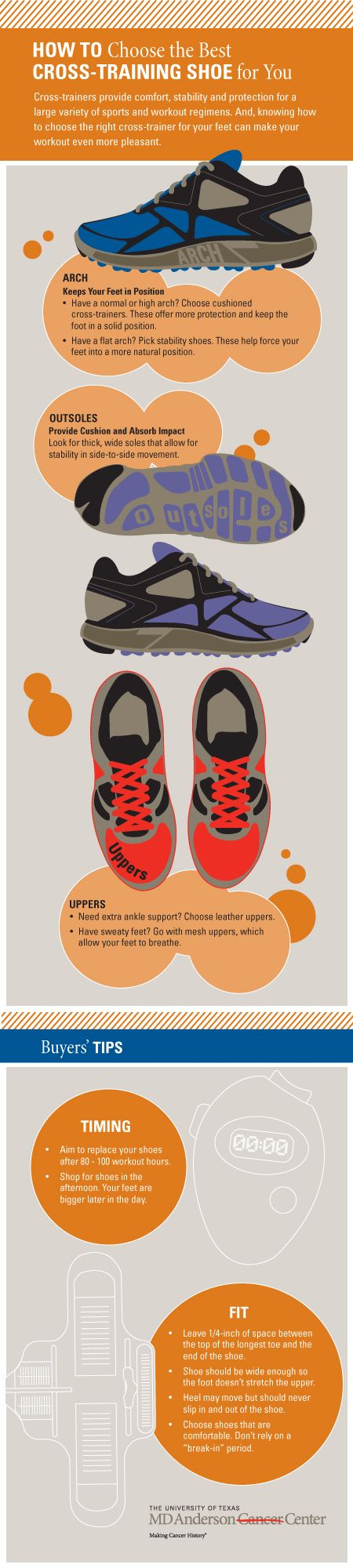 How to choose the best shoes for your workout
