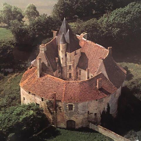 Château de Meauce, Saincaize-Meauce, Nièvre, Bourgogne-Franche-Comté, France.