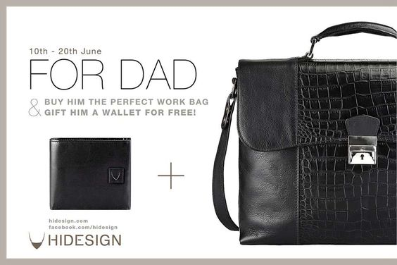HiDESIGN Fathers Day collection - Offers from 10 to 20 June 2013 | Deals, Sales, Offers, Discounts in Mumbai | MallsMarket