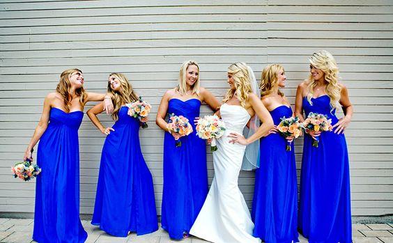 22 - Vestido de Madrinha - azul