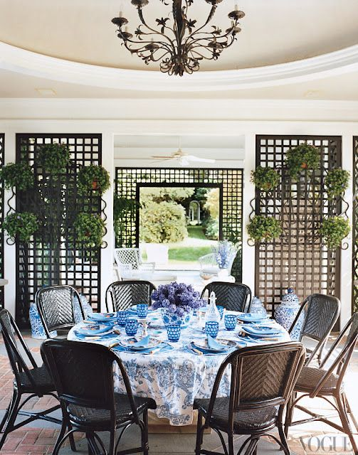 outdoor dining at its best: