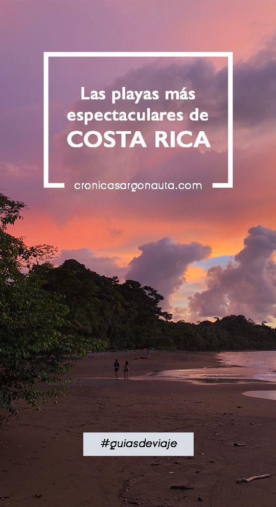 Las playas más hermosas de Costa Rica.