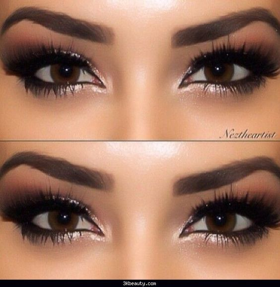 Makeup For Brown Eyes Bridal Makeup And Brown Eyes On Pinterest