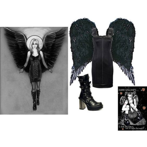 peyton sawyer angel of death costume - Google Search
