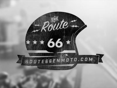 Route66 logo / pinned on toby designs