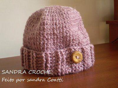 GORRO DE CROCHE