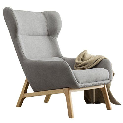 Irene House Wingback Ergonomic Height Back Accent Chair With