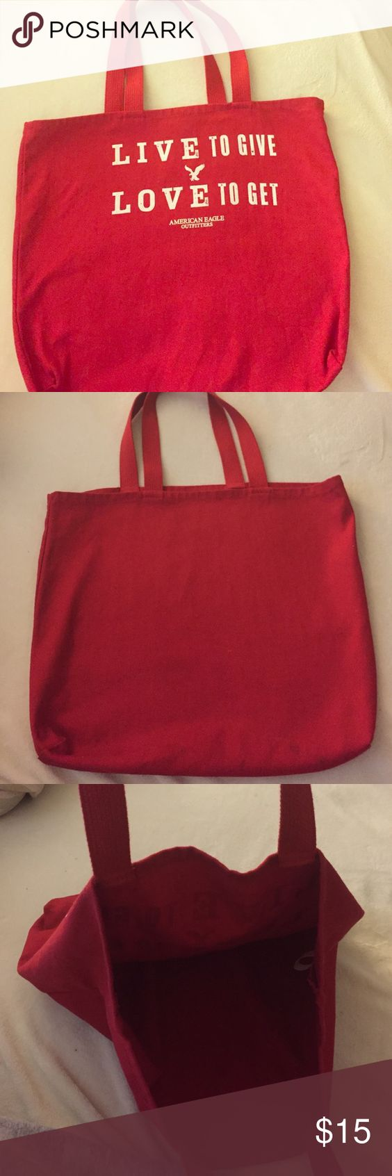 American Eagle Outfitters tote! Used a few times American Eagle Outfitters Bags Totes
