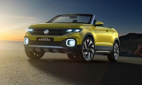 VW T-Cross Breeze Concept Is A Topless Juke-Sized Crossover